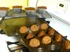 Mandy Glory Muffins & Bread